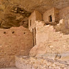 CO-MVNP2017.10.9-Cliff Dwelling, Balcony House4. Mesa Verde, Nat. Park, Colorado. #109.564.
