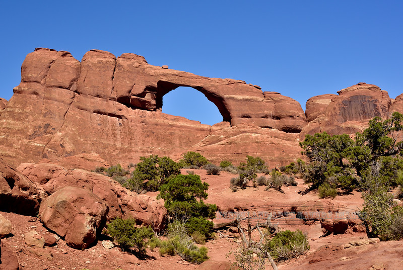 UT-ANP2017.10.6#245. Skyline Arch. Arches Park Utah.