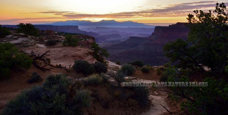 UT-CNP2017.9.16#479. Sunrise in the Canyonlands, Utah.