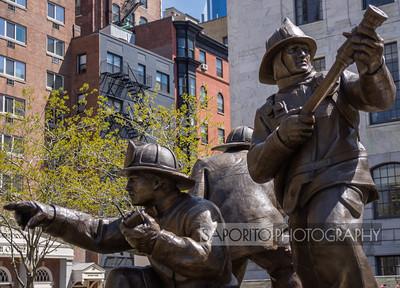 Massachusetts Fire Fighters Memorial