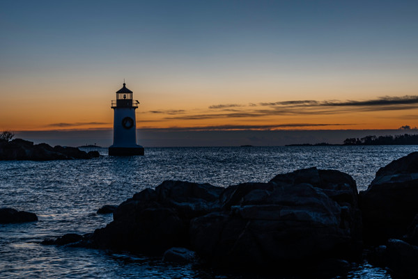 Winter Island Dawn