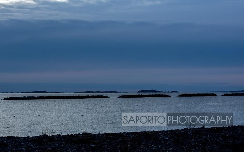 Four Islands, Four Breakwaters, Four Ducks