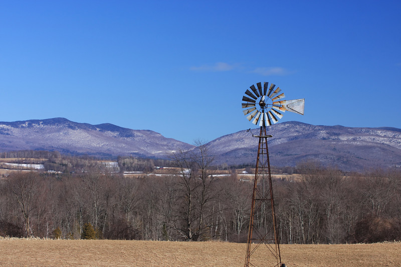 Windmill In Vermont