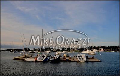 Boats in the bay, Watch Hill, Rhode Island.