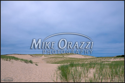 Dunes in the Cape Cod National Seashore in Provincetown, Massachusetts.