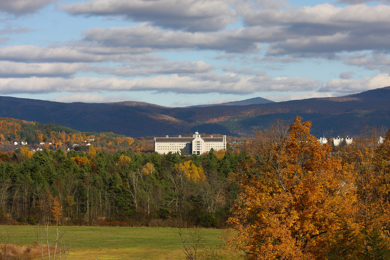 Bicentenniel Hall, Middlebury College<br /> Oct. 2009
