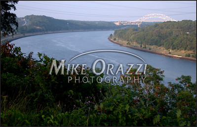 A view of the Cape Cod canal.