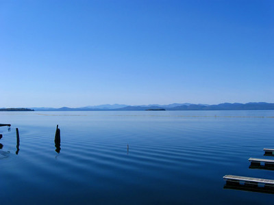 Lake Champlain, Burlington waterfront, VT