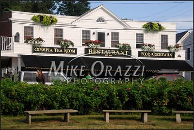 The Olympia Tea Room in Watch Hill, Rhode Island.