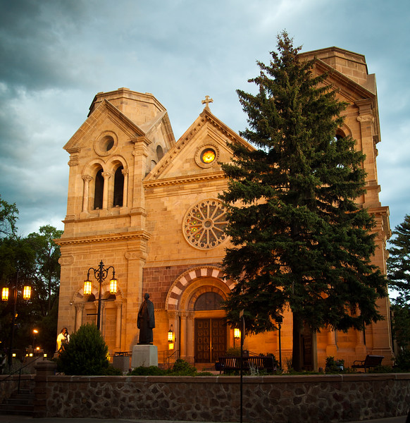 St Francis Assisi Cathedral Basilica, in Santa Fe