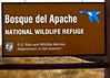 Sign Bosque del Apache NWR<br /> Bosque del Apache NWR, New Mexico