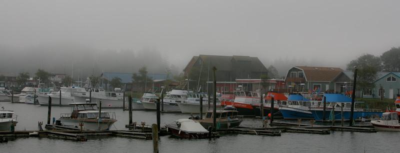 Boats at  Long Beach, Washington