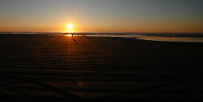 Sunset on Long Beach, Washington-4