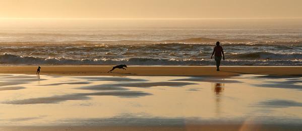 Sunset on Long Beach, Washington-3