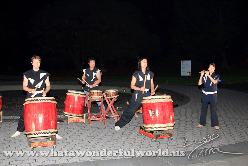 drummers at the NY Botanical Gardens