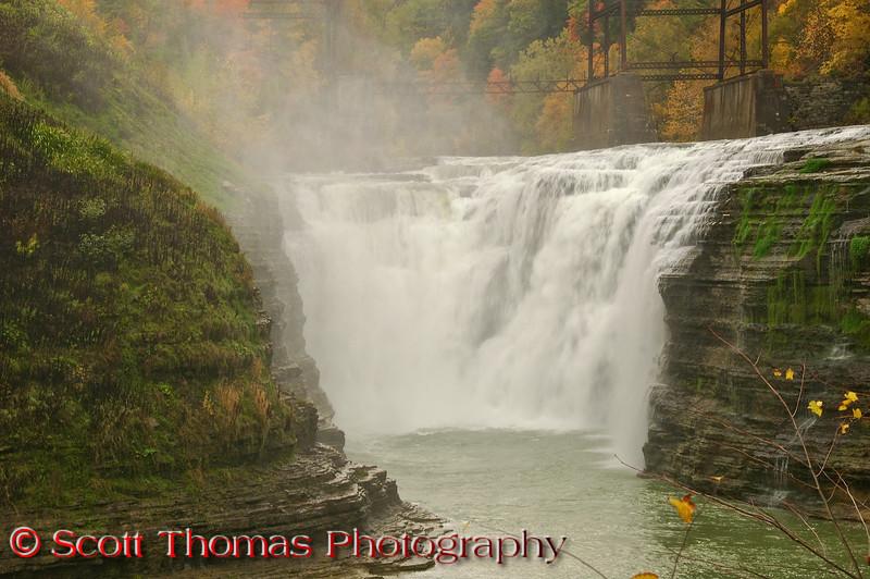 Upper Falls in Letchworth State Park.