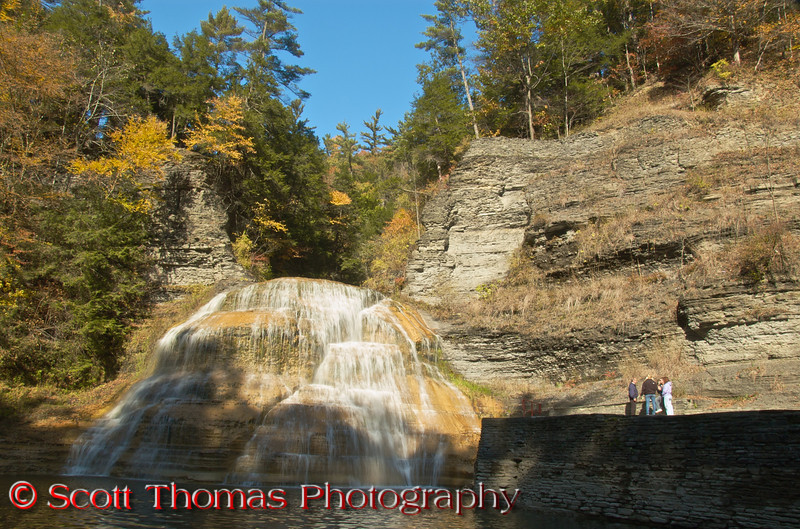 Lower Falls in the Robert H. Treman State Park.