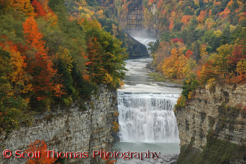 Middle Falls in Letchworth State Park.