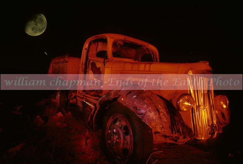 Junkyard Moonrise