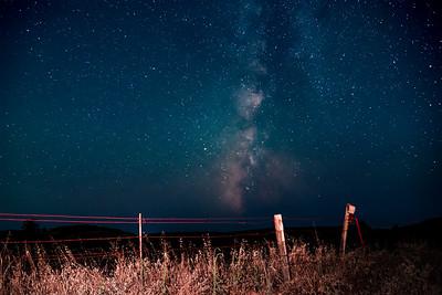 Made from 20 light frames by Starry Sky Stacker 1.3.1.  Algorithm: Median