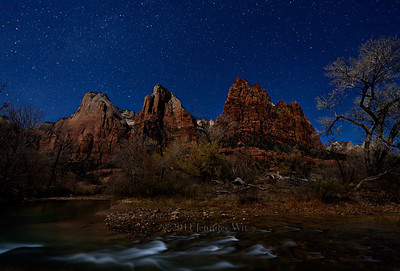 Zion at Night Zion National Park 20081206_Zion_171