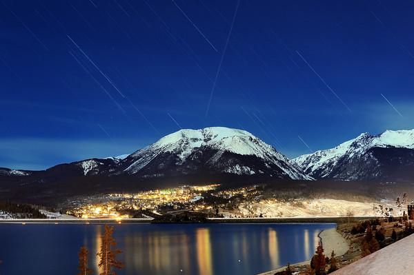 Star Trail Over Lake DC7_2195 nx j