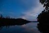 Raquette Lake, 9:30 PM