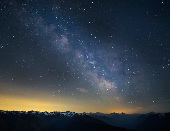 Olympic National Park Milky Way