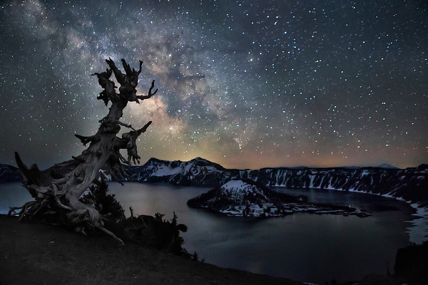 Crater Lake National Park Milky Way