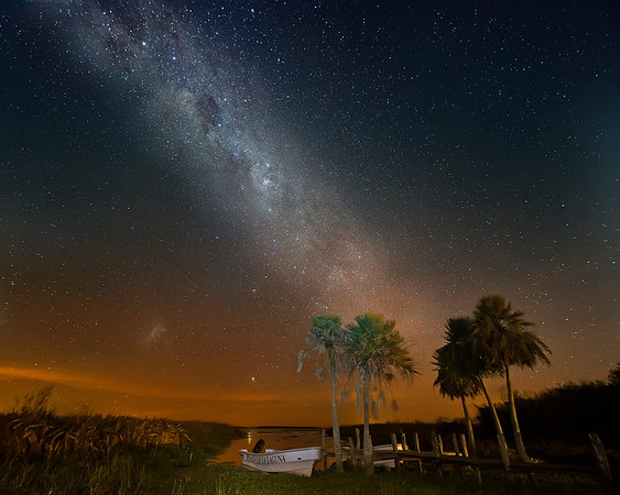 Ibera' Wetlands Milky Way