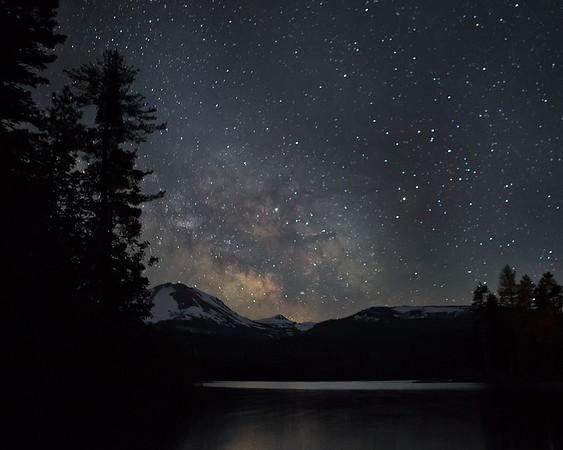 Lassen Volcanic National Park Milky Way