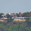 Guntersville State Park Lodge photographed from Guntersville Harbor about a mile away.