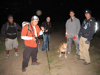 Nocturnal Mission Peak Hike - 12/8, 2006