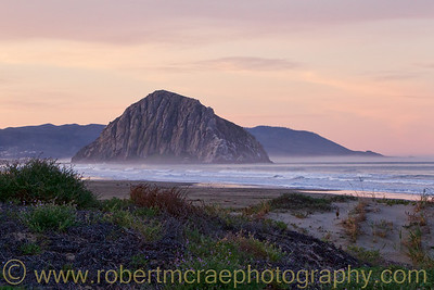 """Morro Rock Sunrise"" - Award Winner"