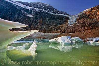"""Angel Pond"" at Mt Edith Cavell."