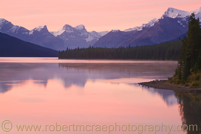 """Maligne Lake Sunrise"" - Multiple Award Winner"