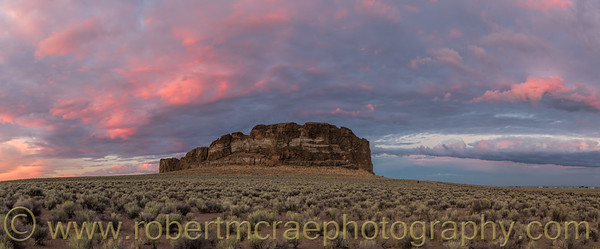 """Sunset at Fort Rock"" - Award Winner"