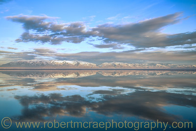 """Wasatch Mountains Reflection"""
