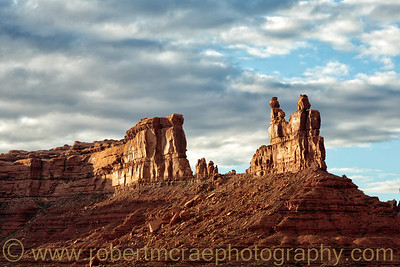 """Storm Clouds Over Valley of the Gods II"""