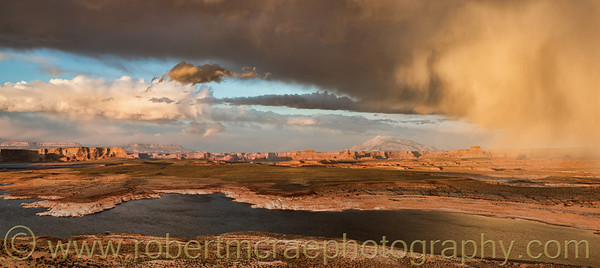 """Storm Over Lake Powell"" - Award Winner."