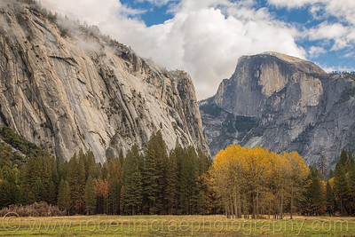 Half Dome in the Fall