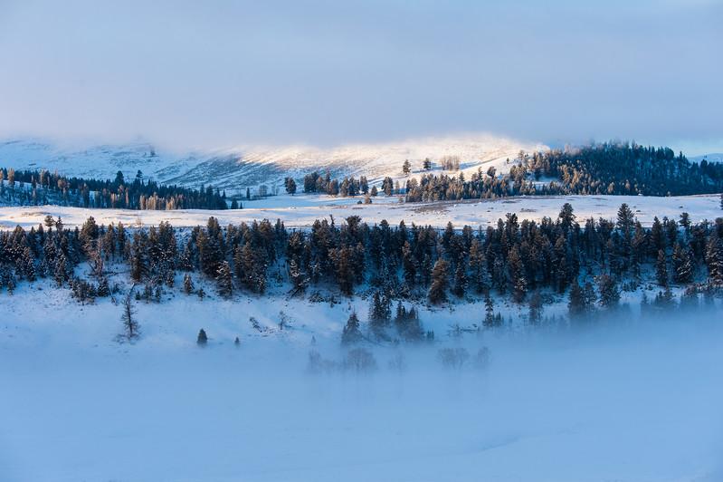 Jasper Bench Sunrise