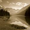 Mountain lake, Glacier National Park, Montana
