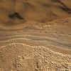 Shoreline and bird tracks, Gros Ventre River, Bridger-Teton National Forest, Wyoming