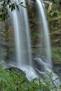 Dry Falls near Highlands, NC