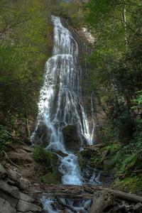Mingo Falls in Cherokee -  Full view