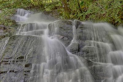Juney Whank Falls on Deep Creek near Bryson City