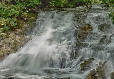 Indian Creek Falls on Deep Creek near Bryson City