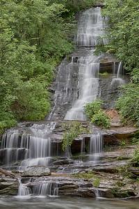 Tom's Branch Falls on Deep Creek near Bryson City