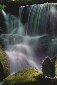 Alarka Falls near Bryson City, NC